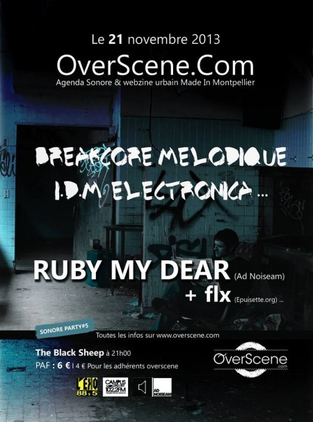 sonore-party-5-concert-ruby-my-dear-flx-lil-fish-black-sheep-montpellier-mars-2013