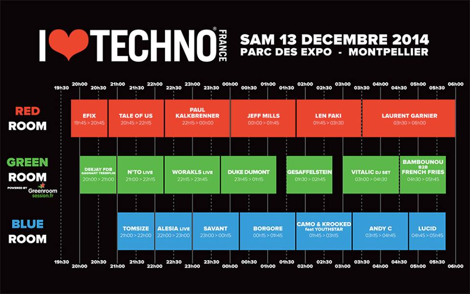 timetable-i-love-techno-france-2014